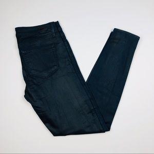 Paige Verdugo Coated Jeans Sailor Blue